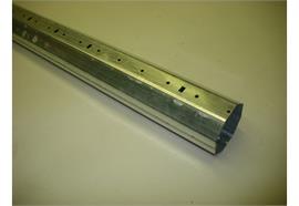 60er-8kt-Rohr Stahl verz. L=1995mm