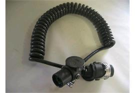 ABS-Elektrospiralkabel 12V