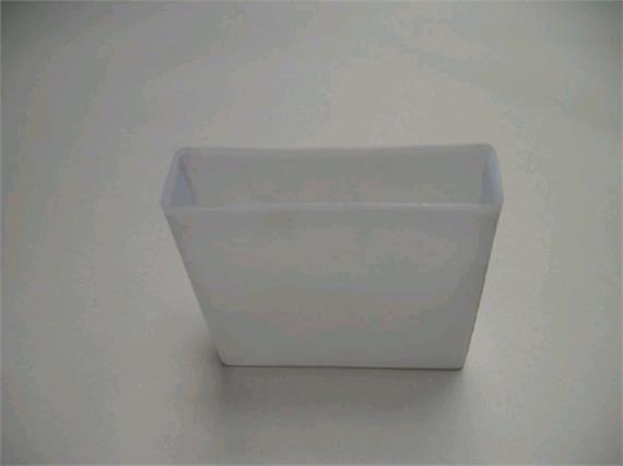 Abschlussdeckel aus Plastik für Lattenprofil 25 x 100