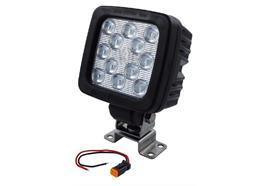 Arbeitsscheinwerfer LED mit Stecker 110 x 110mm 4000lm