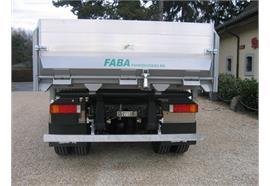 Aufkleber Faba Fahrzeugbau AG schwarz / Format 800x110mm