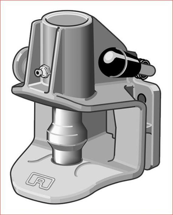 Automatikkupplung RO 243 Lochbild 85/45