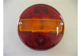 Blink-Brems-Schlussleuchte mit NrL rund D=140mm