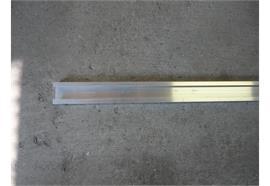 C-Profil Alu überfahrbarL=2600mm