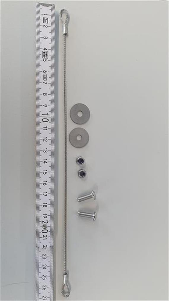 Deckelfeststeller für Werkzeugkiste für nachträgliche Montage