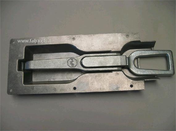 Einbau - Exzenterverschluss Schlaufe lang verzinkt