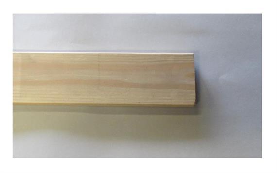 Einstecklatte 27 x 120 L= 4200 mm