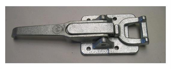 Exzenterverschluss Aufbau Schlaufe kurz grau PUAS