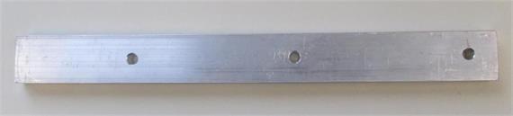 Flachprofilstecker Alu L=295mm