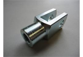 Gabelkopf M10 x 20 verzinkt