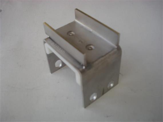 Gleitlager-Support 4x2 mit Verstärkungsprofil