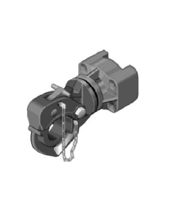 Hakenkupplung RO 232 LB 85x45 M12 D=22 kN