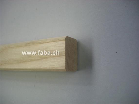 Holzeinlage Stangenträger 30 x 41 L= 2000 mm Esche