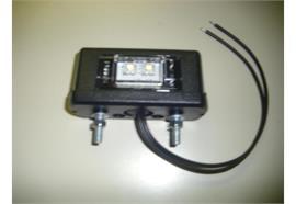 Kennzeichenleuchte LED schmal 12V / 24V