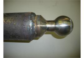 Kipptraverse 82,5 x 2000 mit Kugel 60mm