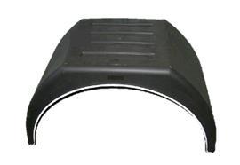 Kotflügel Kunststoff 450 x 880 (flach)