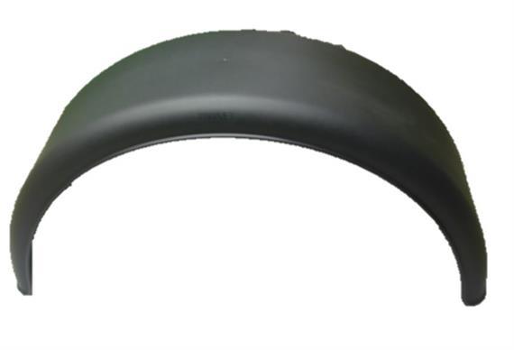 Kotflügel Polypropylen schwarz 280 x 900 halbrund