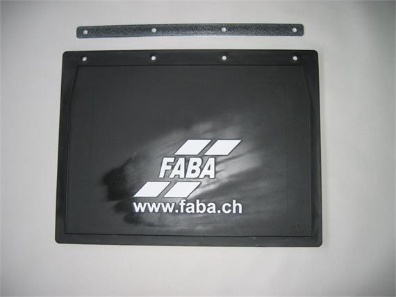 Kotschutzlappen mit Logo 400x300 mm