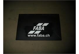 Kotschutzlappen mit Logo 600x400 mm