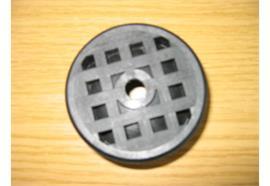 Kunststoffeinlage zu Kugelpfanne Ø60 mm