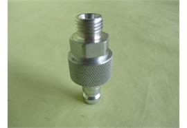 Kupplungsstecker mit Sperrventil DN6 Pneumatik