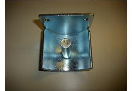 Lagerschale zum annieten Ø 60 mm mit Bolzen