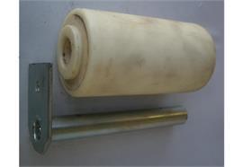 Laufrolle Kunststoff 200 x 100 x 30 mm mit Bolzen