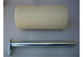 Laufrolle Kunststoff 330 x 160 x 40 mm mit Bolzen