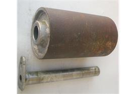 Laufrolle Stahl 200 x 100 x 30 mm mit Bolzen