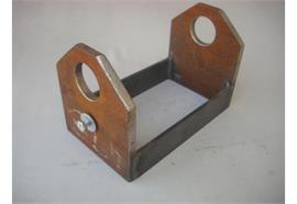 Laufrollenhalter zu Rolle 185 x 130 x 40 mm