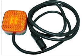 LED Seitenmarkierleuchte 24V gelb