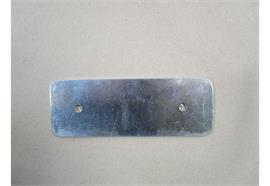 Magnetplatte für Steuerbox verzinkt