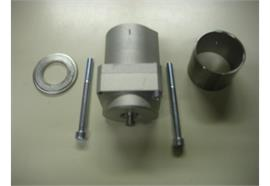 Pneumatikzylinder zu Kippventil