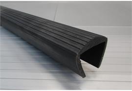 PVC Profil 45mm für Stangenträger L=2600mm