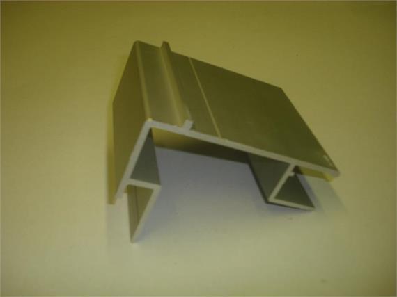 Rahmenprofil 18 x 115 mm eloxiert L=7500mm