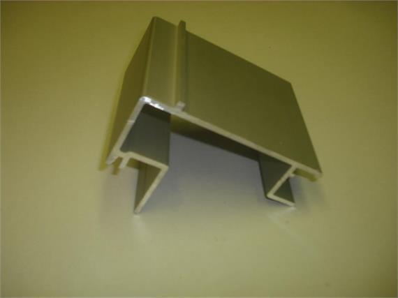 Rahmenprofil 30 x 115 mm eloxiert L=7500mm