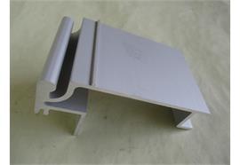 Rahmenprofil 40 x 155 elox Ladungssicherung L=7350mm