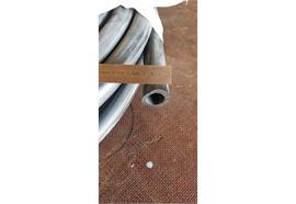 Saugschlauch Nitril ohne Einlage. schwarz 14 x 20 mm
