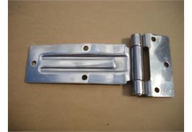 Scharnier Inox 105 x 242 mm