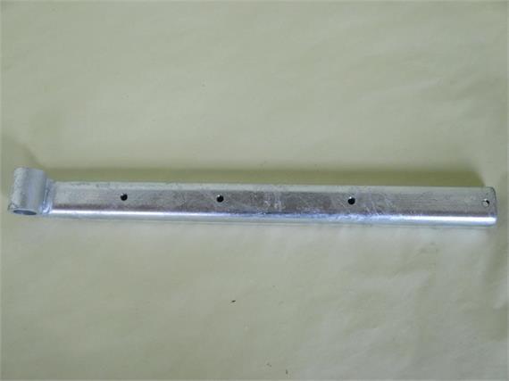 Scharnier zu Rückladen verzinkt L= 375 mm B= 35 mm