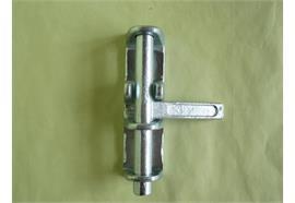 Schiebebock zu Rückl.- Scharnier B= 35 mm verz.