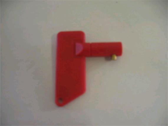 Schlüssel für Batterietrennschalter