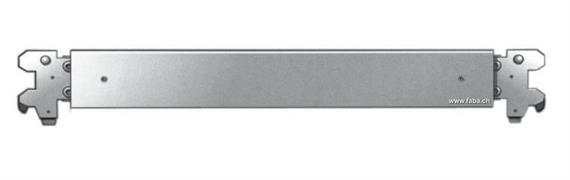 Sperrbalken Alu vierkant 60x60x4 Nutzlänge 2460-2520