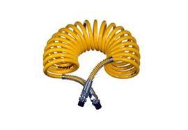 Spiralbremsschlauch gelb