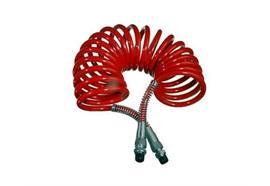 Spiralbremsschlauch rot