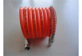 Spiralschlauch mit Kupplungsstecker