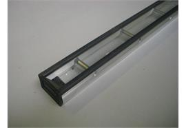 Stäbchenzurrschiene (Alu) mit PVC Schutz L=6000mm