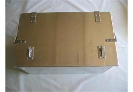 Werkzeugkiste Alu glatt 710 x 420 x 385 mm (BxHxT)