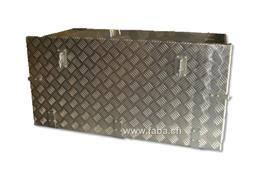 Werkzeugkiste Alu Tränenbl. 940 x 450 x 485 (BxHxT)mit Riegelverschluss