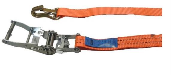 Zurrgurt 1225/2500daN, 35 mm, orange 5m